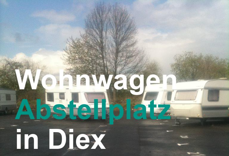 Abstellplatz in Diex